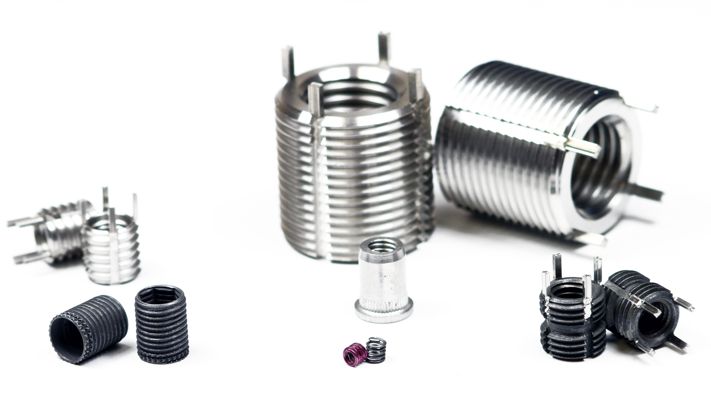 Threaded, Wire Thread & Keensert Inserts - metric & imperial